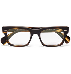 Oliver Peoples Ryce Square-Frame Tortoiseshell Acetate Optical Glasses