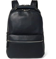 Shinola Runwell Grained-Leather Backpack