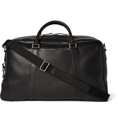 Shinola Signature Grained-Leather Duffle Bag