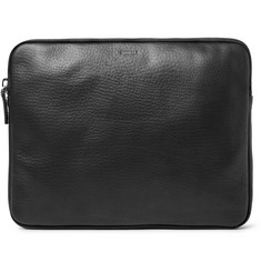 "Shinola - 13"" Grained-Leather Portfolio"