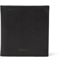 Shinola Bifold Grained-Leather Wallet