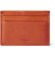 Shinola Leather Cardholder