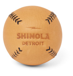 Shinola - LEMON BALL™ Leather Baseball