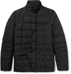 Herno Laminar Quilted GORE Windstopper® Shell Down Jacket