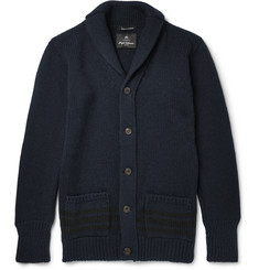Nigel Cabourn Shawl-Collar Wool Cardigan