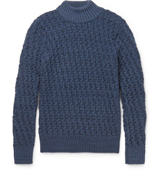 S.N.S. Herning Stark Basketweave Virgin and Merino Wool-Blend Sweater