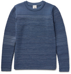 S.N.S. Herning Torso Textured Virgin and Merino Wool-Blend Sweater