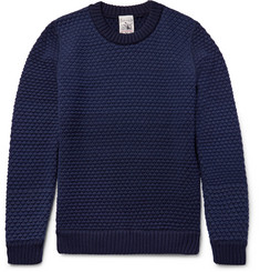 S.N.S. Herning Terminal Basketweave Virgin and Merino Wool-Blend Sweater