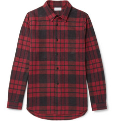 John Elliott - Plaid Cotton-Flannel Shirt