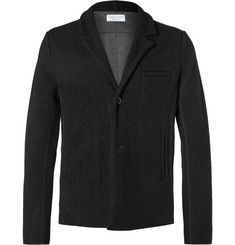 John Elliott Black Richmond Slim-Fit Unstructured Wool-Blend Blazer