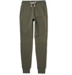 John Elliott Escobar Tapered Loopback Cotton-Jersey Sweatpants