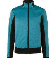 Colmar Two-Tone Stretch-Jersey Zip-Up Mid-Layer