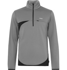 Colmar Fleece-Back Half-Zip Mid-Layer Top