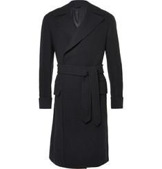 Eidos Carlo Belted Wool-Tweed Coat