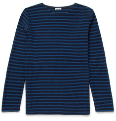 Eidos Striped Cotton-Jersey T-Shirt