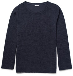 Eidos Fiske Slub Cotton-Terry Sweater
