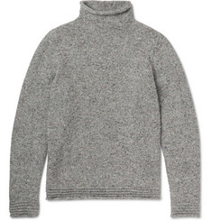 Eidos Slub Wool and Cashmere-Blend Rollneck Sweater