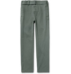 Eidos Ambro Cotton-Canvas Trousers