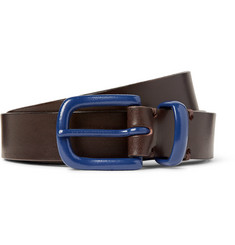 Oliver Spencer 2.5cm Brown Coniston Leather Belt
