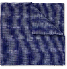 Oliver Spencer - Lupin Cotton Pocket Sqaure
