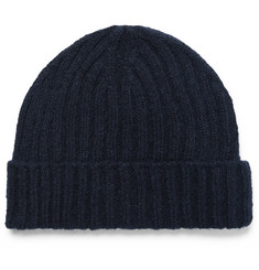 Oliver Spencer Ribbed Wool Beanie