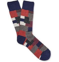 Anonymous Ism - Patchwork Knitted Socks