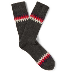 Anonymous Ism Felted Socks