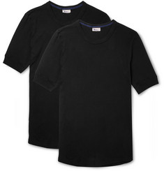 Schiesser Two-Pack Karl Heinz Cotton T-Shirt