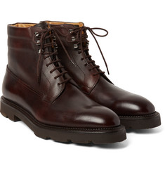 John Lobb - Alder Pannelled Leather Boots
