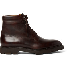 John Lobb Alder Pannelled Leather Boots