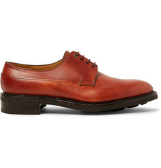 John Lobb Croft Panelled-Leather Derby Shoes