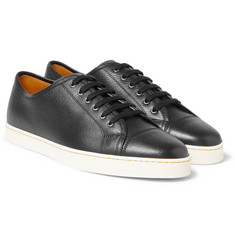 John Lobb - Levah Full-Grain Leather Sneakers