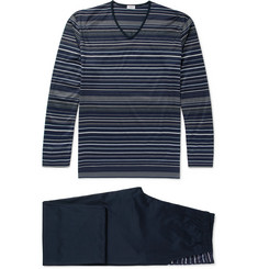 Zimmerli Cotton-Jersey Pyjama Set