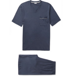 Zimmerli Mercerised Cotton-Jersey Pyjama Set