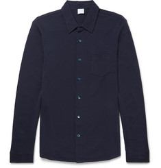 Sunspel Slim-Fit Cotton-Piqué Shirt