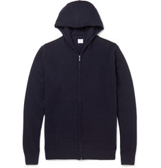 Sunspel Cashmere Zip-Up Hoodie