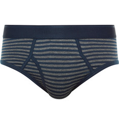 Sunspel Striped Cotton Briefs