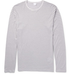 Sunspel - Striped Cotton-Jersey T-Shirt