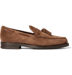 Tod's - Suede Tasselled Loafers
