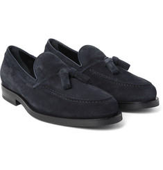 Tod's - Suede Tassel Loafers