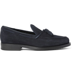 Tod's Suede Tassel Loafers