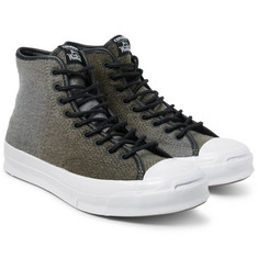 Converse - + Woolrich Jack Purcell Signature Wool High-Top Sneakers