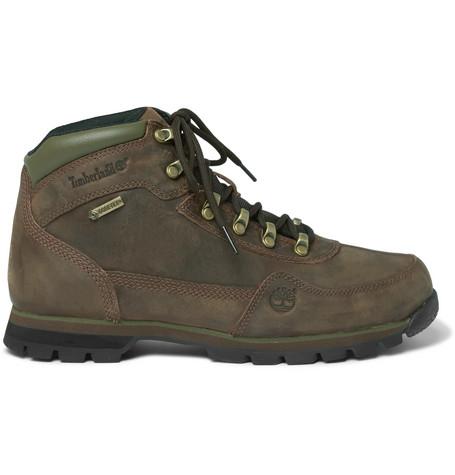pretty nice cc128 38e23 Timberland Euro GORE-TEX reg  Nubuck Hiking Boots