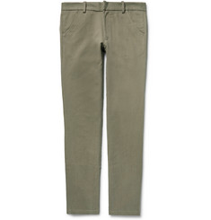 The Elder Statesman Slim-Fit Cotton-Corduroy Trousers