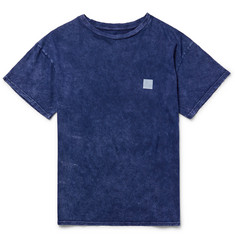 The Elder Statesman Printed Washed Cotton-Jersey T-Shirt