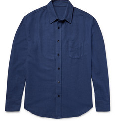 The Elder Statesman Brushed-Cotton Flannel Shirt