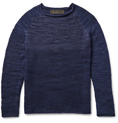 The Elder Statesman Marl Cashmere Sweater