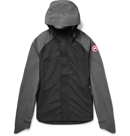 Alderwood Hooded Waterproof Shell Jacket