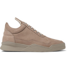 Filling Pieces Ghost Suede Sneakers