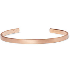 Le Gramme Le 15 Brushed 18-Karat Rose Gold Cuff